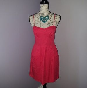 Mossimo coral dress